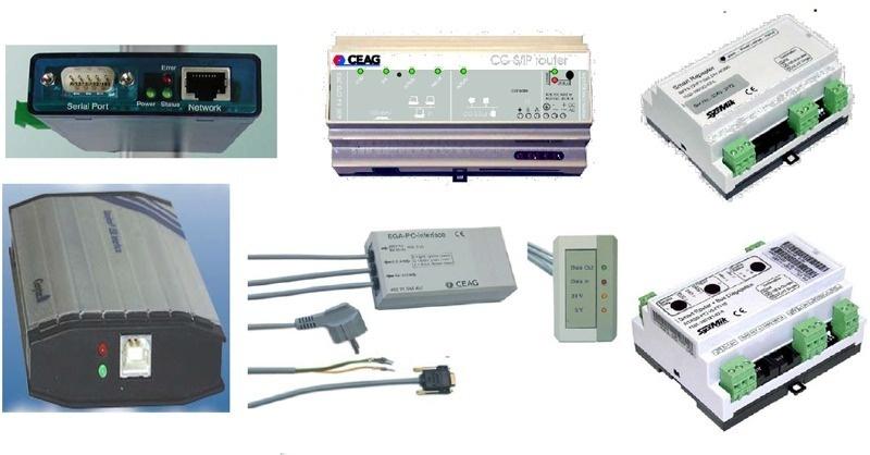 Biztonsági világítás hálózatba kötése