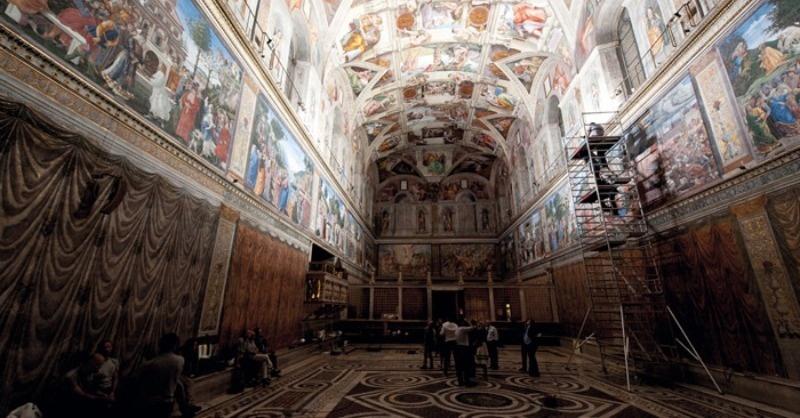 Magyarok is tervezték  a Sixtus-kápolna új fényeit