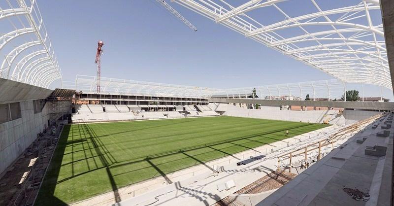 Az új Hidegkuti Nándor Stadionban jártunk