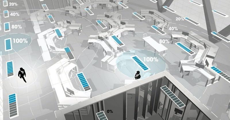 Okos technológia csökkenti töredékére a világítás energiafelhasználását
