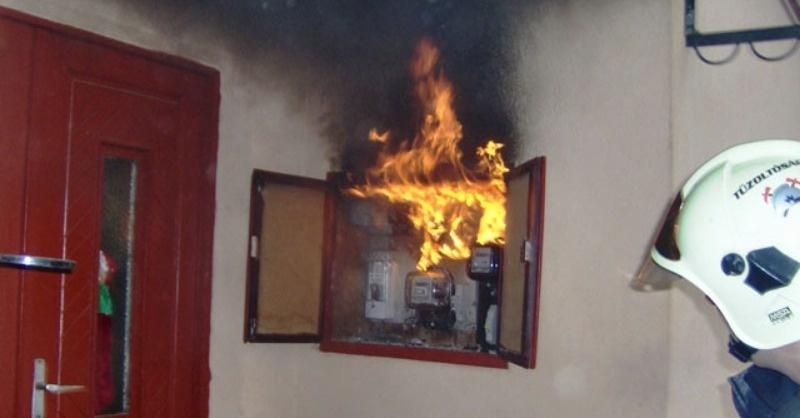 Az elektromos eredetű tűzesetek kockázati tényezői