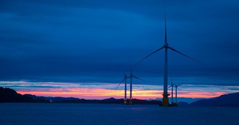 Készül az első lebegő offshore szélerőmű