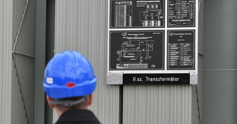 2,5 milliárdos transzformátorállomást adtak át