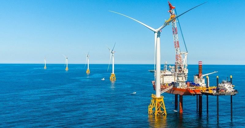 Bekapcsolták a 400 MW-os szélerőműpark első turbináját