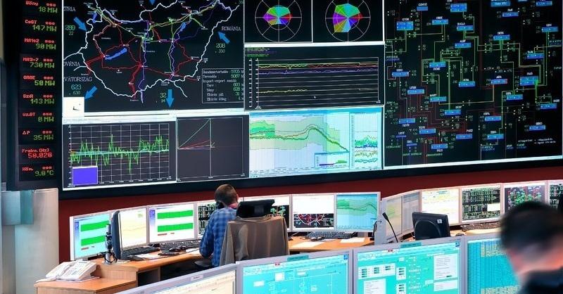Nőtt Magyarország villamosenergia-felhasználása 2017-ben