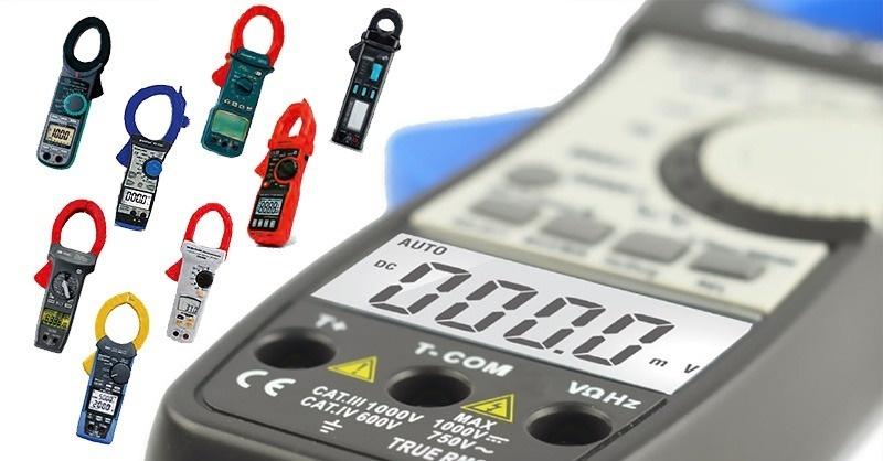 DC/AC, TRMS lakatfogó multiméterek