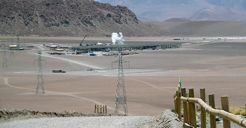 Geotermikus erőmű Chilében