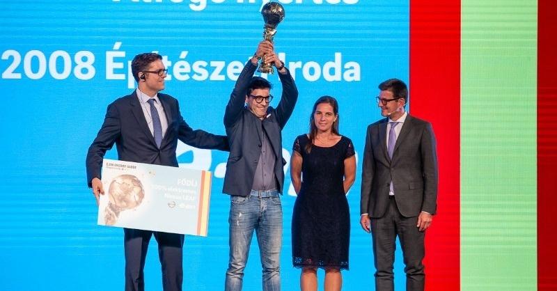 Pécsi intelligens lakóház a legjobb hazai fenntarthatósági kezdeményezés