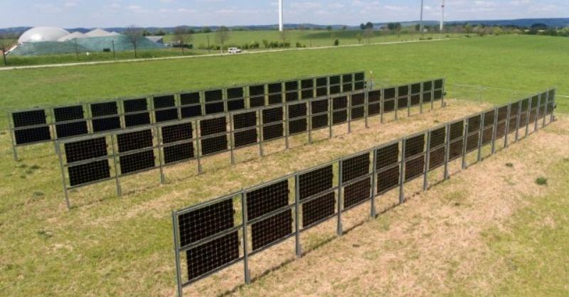 Mindkét oldalán áramot termel az új napelem