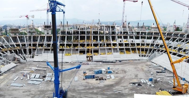 Épül az új Puskás Ferenc Stadion!