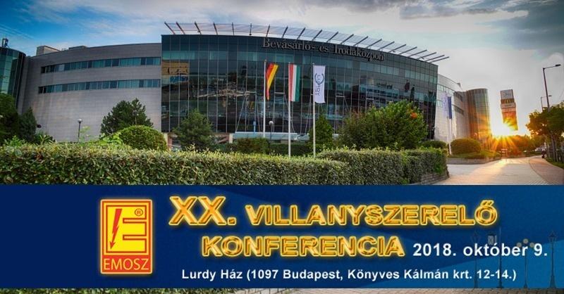Jön a XX. Jubileumi Villanyszerelő Konferencia!