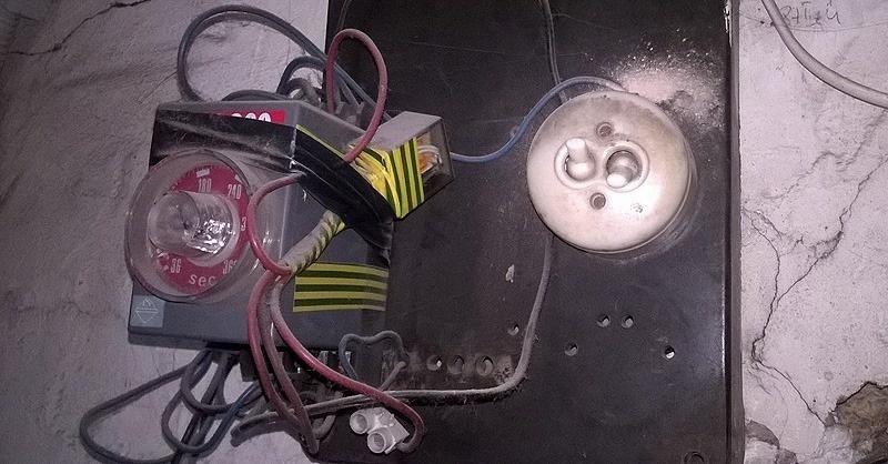 Ide tűzszerész kell, nem villanyszerelő!