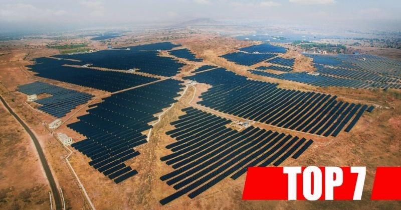 A világ legnagyobb naperőművei - TOP 7