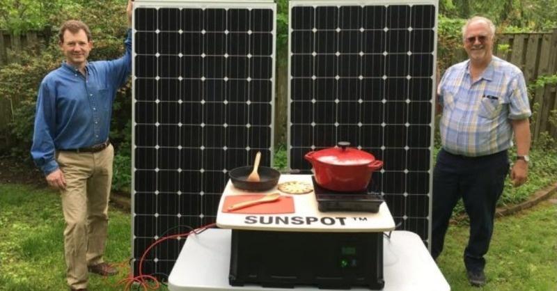 Főzés napenergiával