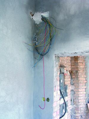 károsodott villanyszerelő