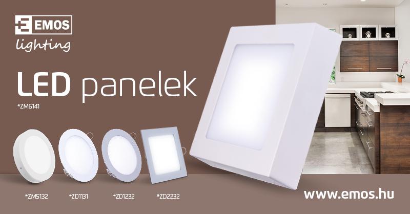 EMOS LED panelek