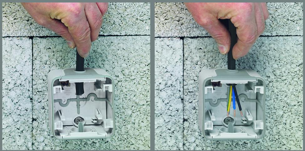 A dugaszolóaljzat és a villanyszerelő