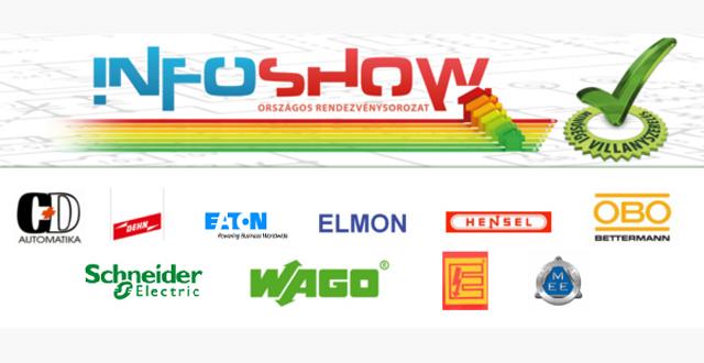 Az InfoShow 2015/16-os mottója: villamos felülvizsgálatok - épületek villamos berendezéseinek biztonsága.