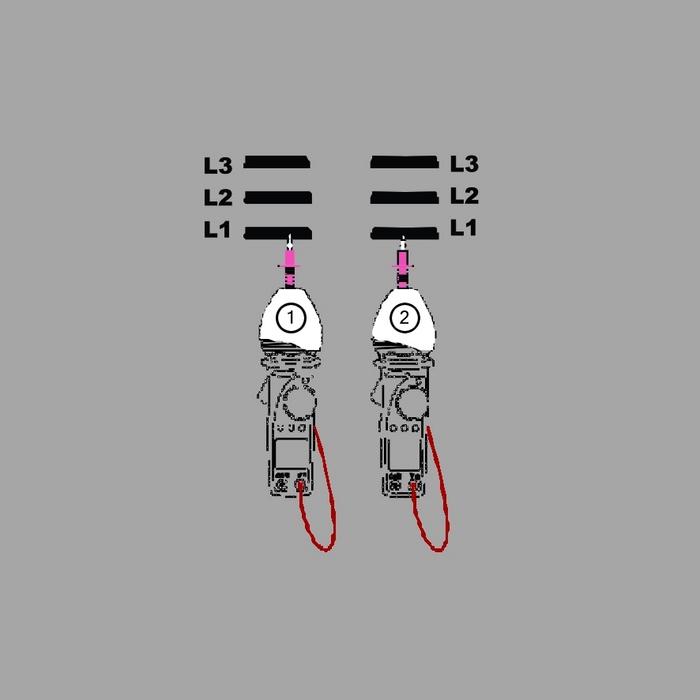 9. kép: A fázisok megállapítása után az azonosított vezetékek probléma nélkül köthetők össze.