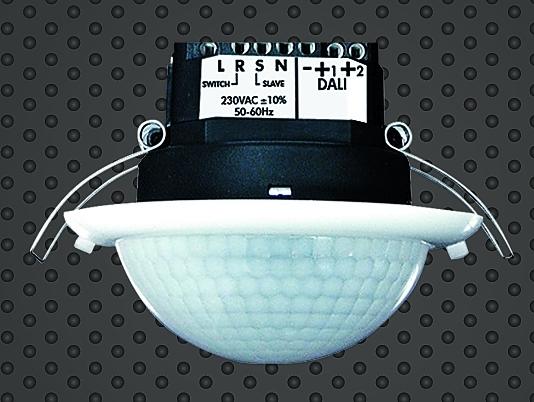 3. ábra: Egy komplett szabályozó, azaz fényérzékelővel is ellátott jelenlét-érzékelő minden funkciót tartalmaz.