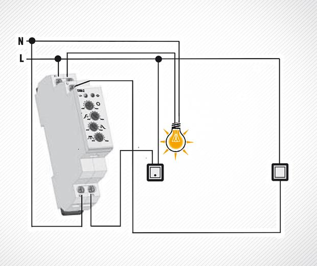 1. lépcsőházi automata A lépcsőházi automata egy speciális elengedés-késleltető (kikapcsolás-késleltető) funkciót megvalósító időrelé.