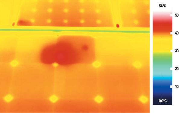 """A """"forró pontot"""" csak kellő érzékenységű hőkamerával és megfelelő rutinnal lehet feltárni."""