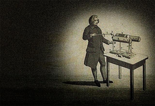 2. ábra Edward Nairne, angol optikus és műszaki szakember, az elektrosztatikus villamosság kutatója, aki az olvadóbiztosító működési elvét megtapasztalta és már 1774-ben feljegyezte.