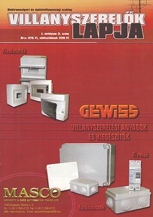 Villanyszerelők Lapja 2002. december
