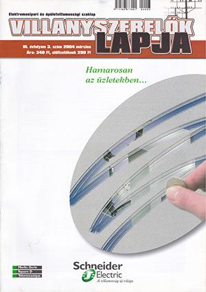 Villanyszerelők Lapja 2004. március