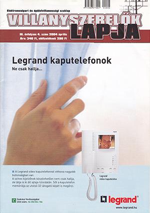 Villanyszerelők Lapja 2004. április