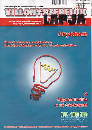 Villanyszerelők Lapja 2004. szeptember