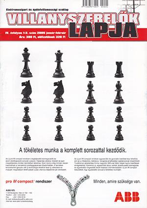 Villanyszerelők Lapja 2005. január-február