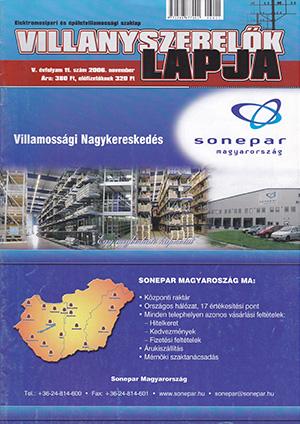 Villanyszerelők Lapja 2006. november
