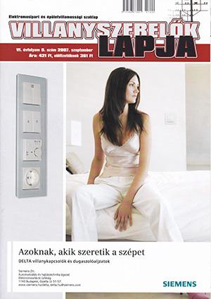 Villanyszerelők Lapja 2007. szeptember