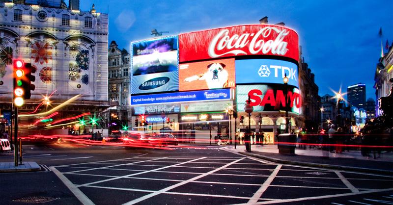 Elsötétült a Piccadilly híres fényreklámja