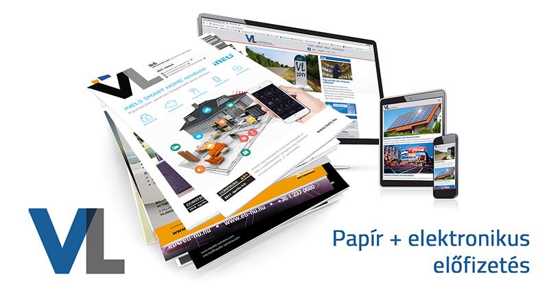 Papír + elektronikus éves előfizetés